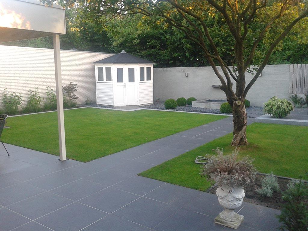 Klassiek moderne tuin stoop tuinen